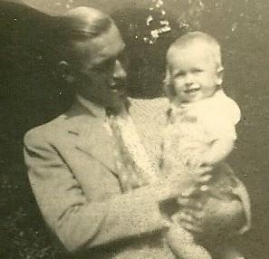 Vader en zoon Kees 1944